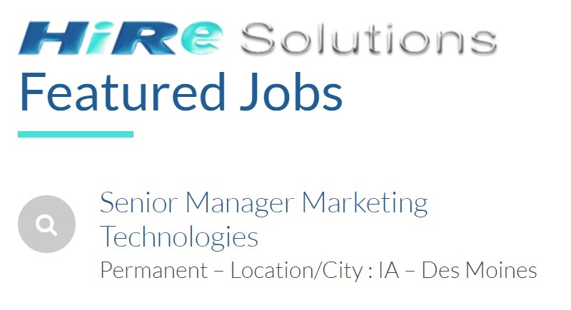 Marketing Jobs in Des Moines IA